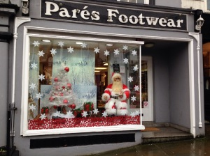 Where Santa buys his boots - Pares of course