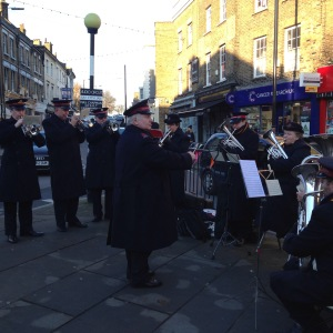 Salvation Army band - wouldn't be the same without them