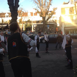 Next year's hobby is sorted - Morris Dancing!